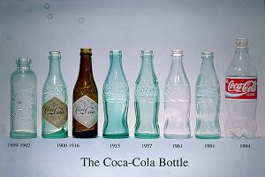 Bottiglie Contour Coca.Cola